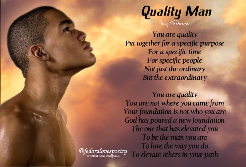 Quality Man by Fedora