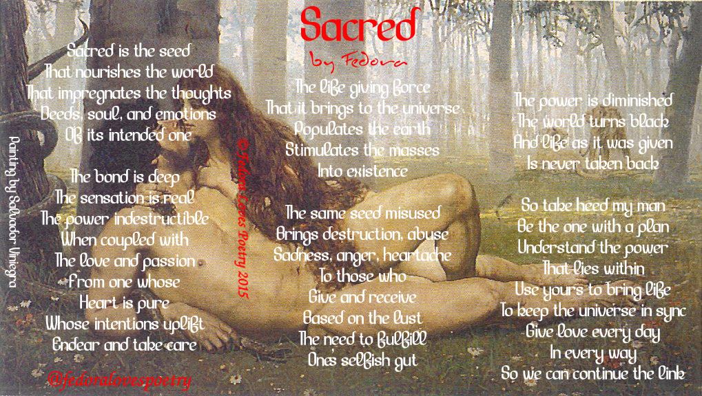 Sacred by Fedora