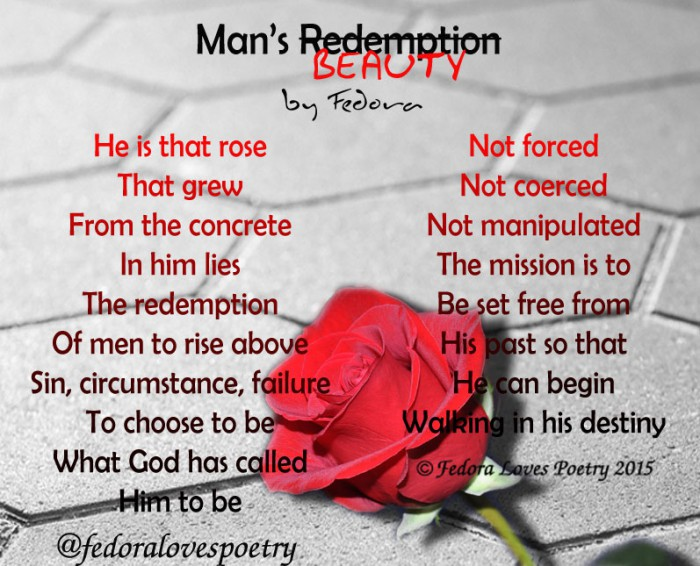 Man's Beauty by Fedora