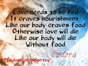 Feeding Love by Fedora