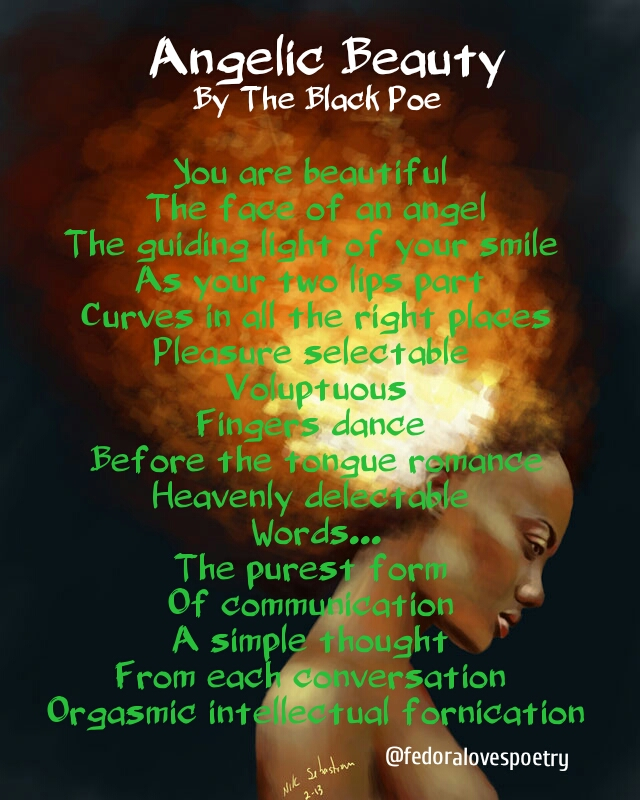 Angelic Beauty by The Black Poe