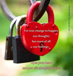 True change starts in the heart. Motivate with love.