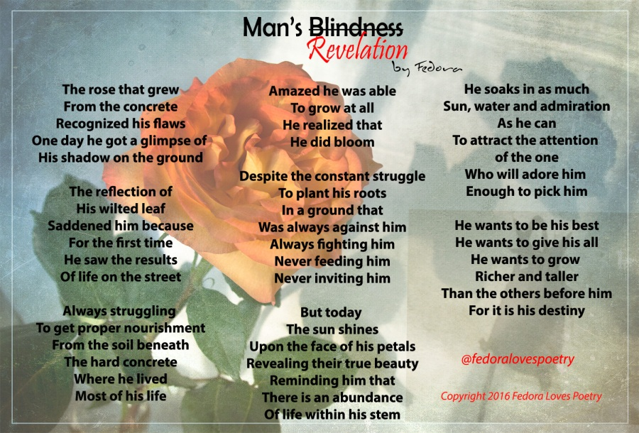 Men You are Blind - Man's Revelation by Fedora