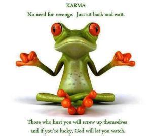 Karma Serves by Fedora