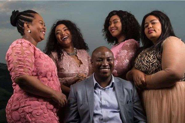 Polygamy Family from South African reality show, Uthando neSthembu