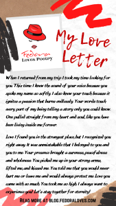 My Love letter by Fedora Pt 2